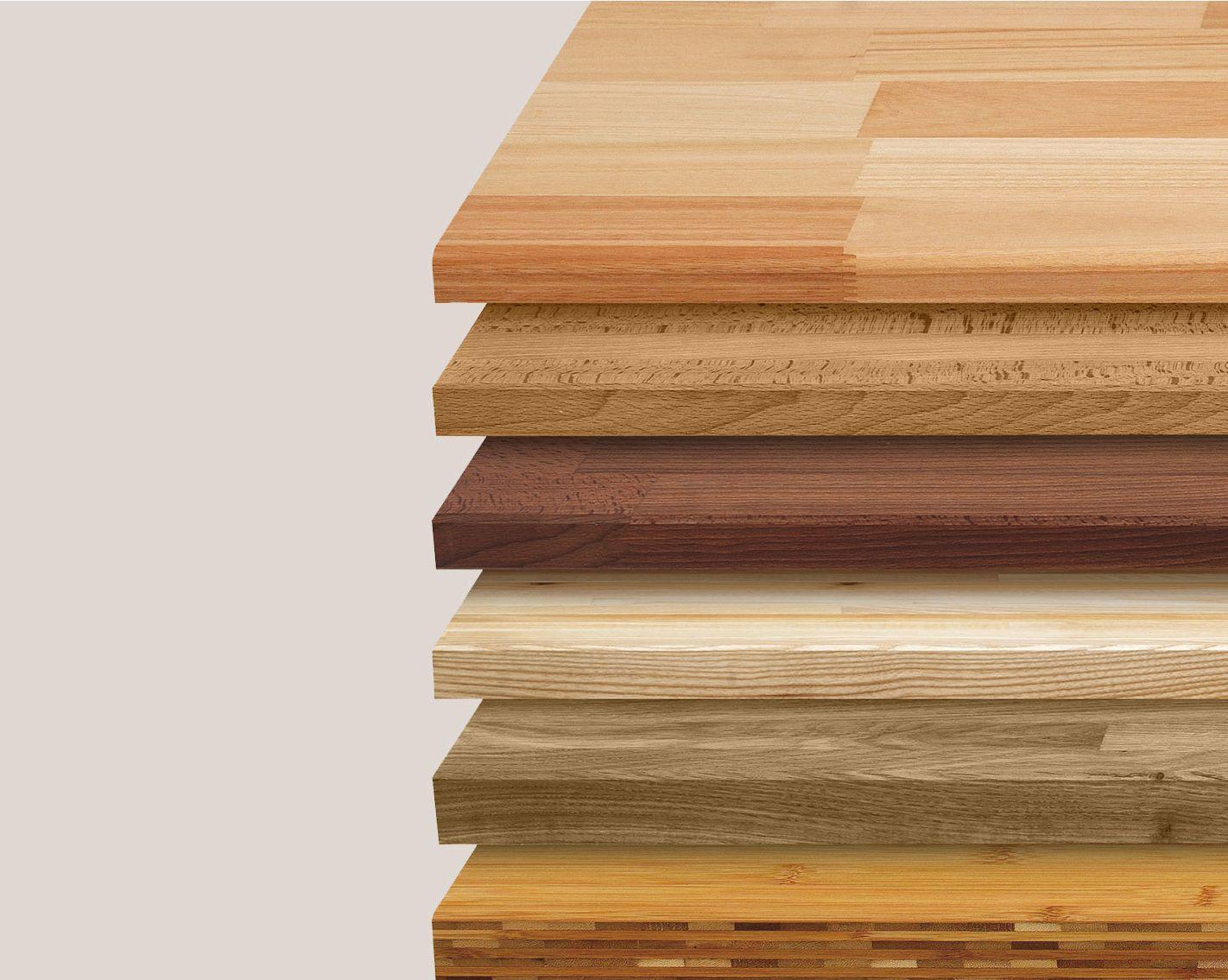 Plan de travail bois acacia