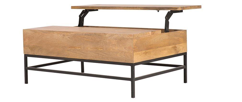 Table basse relevable darwin